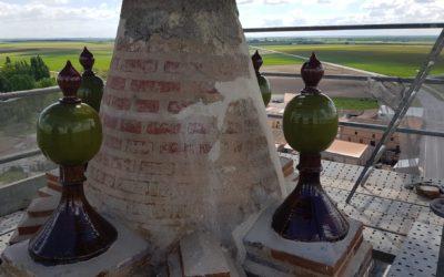 La Junta restaura la torre de la iglesia de Rágama con una inversión de 155.000 euros